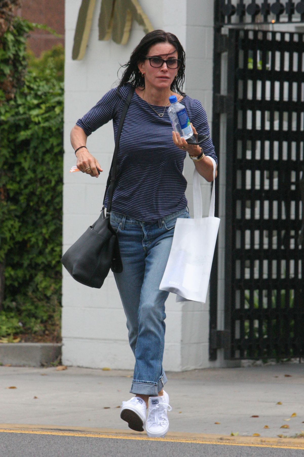 COURTENEY COX Out Shopping at Express in Beverly Hills 05 ...