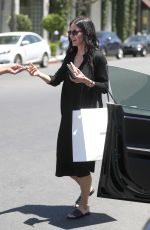 COURTENEY COX Out Shopping in West Hollywood 05/19/2017