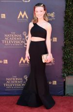 COURTNEY GROSBECK at 44th Annual Daytime Emmy Awards in Los Angles 04/30/2017