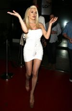 COURTNEY STODDEN at W Hotel in Los Angeles 05/17/2017