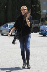 COURTNEY THORNE-SMITH Out Shopping in Beverly Hills 05/18/2017