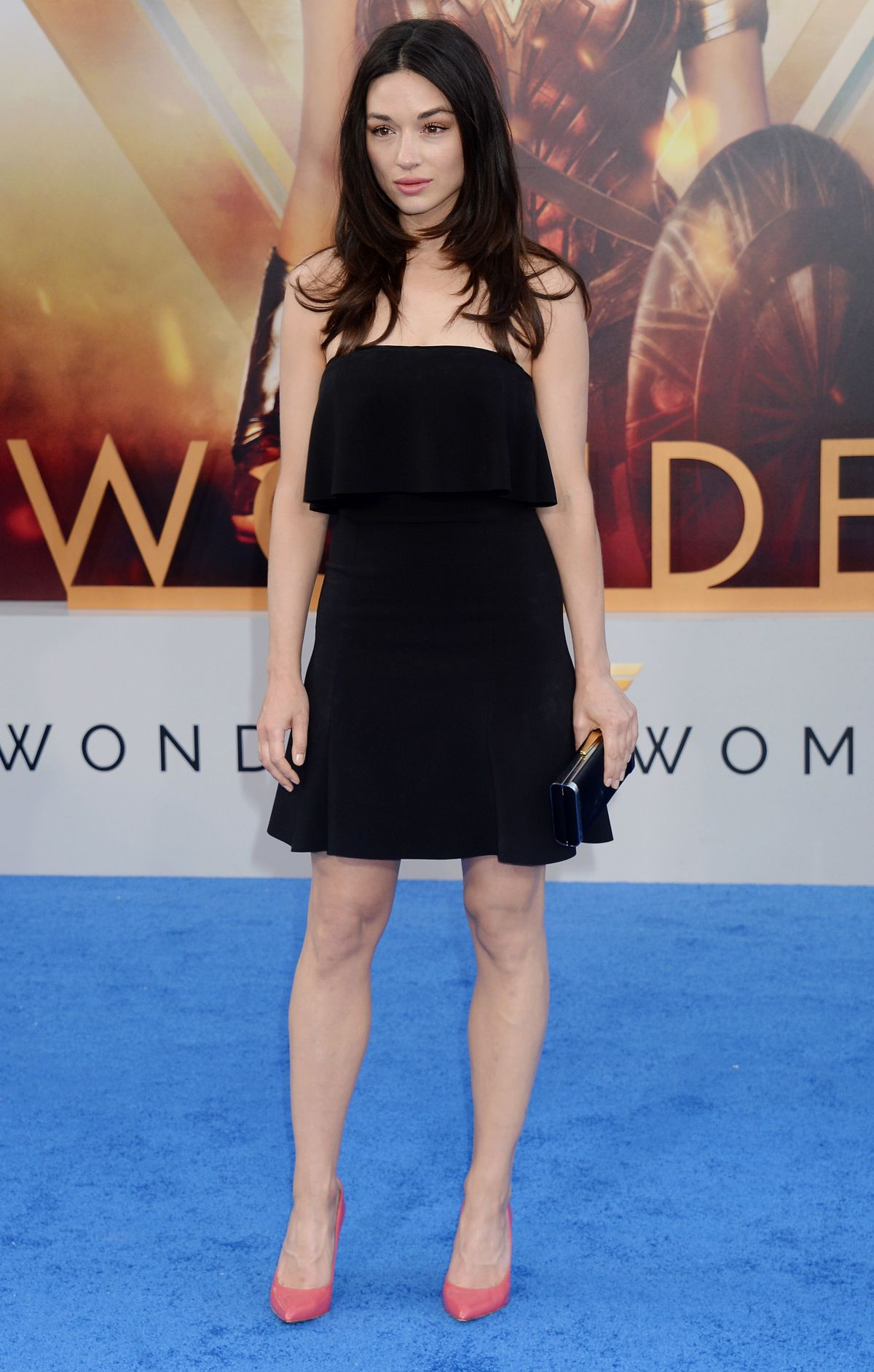 CRYSTAL REED at Wonder Woman Premiere in Los Angeles 05/25/2017