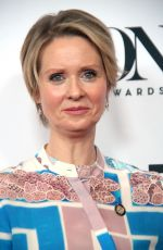 CYNTHIA NIXON at 2017 Tony Awards Meet the Nominees Press Junket in New York 05/03/2017