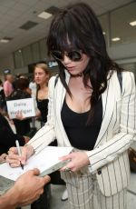 DAISY LOWE Arrives at Airport in Nice 05/18/2017