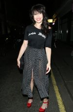 DAISY LOWE Arrives at Alexa Chung Launch Party in London 05/30/2017
