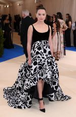 DAISY RIDLEY at 2017 MET Gala in New York 05/01/2017