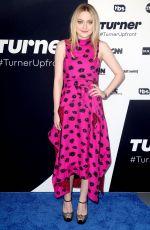 DAKOTA FANNING at Turner Upfront Presentation in New York 05/17/2017
