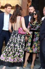 DAKOTA JOHNSON Arrives at Gucci Cruise 2018 Fashion Show in Florence 05/29/2017