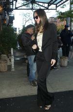 DAKOTA JOHNSON Arrives Back to Her Hotel in New York 05/03/2017