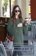 DAKOTA JOHNSON at Carrera Cafe in Los Angeles 05/25/2017