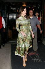 DAKOTA JOHNSON Leaves Her Hotel in New York 05/02/2017