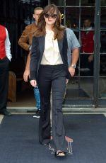 DAKOTA JOHNSON Leaves Her Hotel in New York 05/03/2017