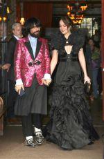 DAKOTA JOHNSON on Her Way to MET Gala in New York 05/01/2017