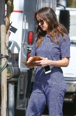 DAKOTA JOHNSON Out and About in Los Angeles 05/07/2017