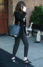 DAKOTA JOHNSON Out in New York 05/04/2017