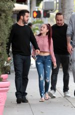 DANIELLE BREGOLI Out Shopping in Beverly Hills 05/09/2017