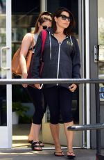 DANIELLE BUX Leaves a Pilates Class in Los Angeles 05/27/2017