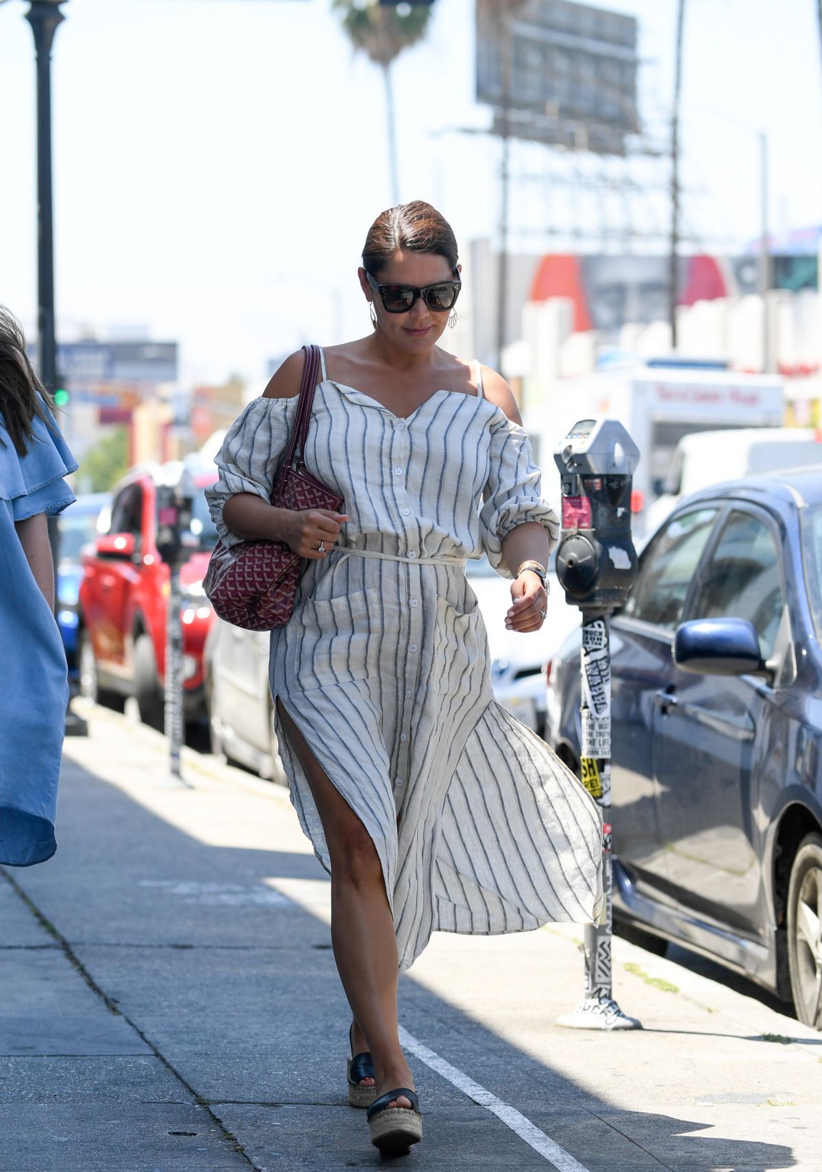 DANIELLE LINEKER Out and About in Los Angeles 05/23/2017 - HawtCelebs ...