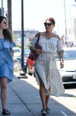 DANIELLE LINEKER Out and About in Los Angeles 05/23/2017