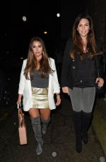 DANIELLE LLOYD Night Out in Manchester 05/12/2017