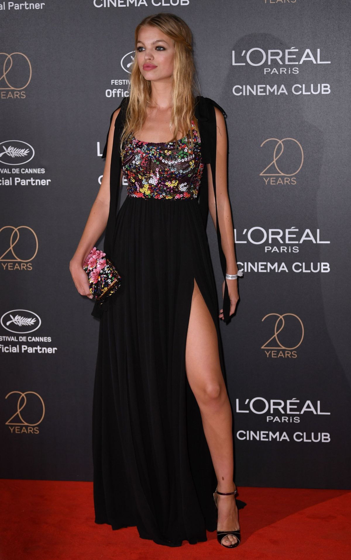 DAPHNE GROENEVELD at L'Oreal 20th Anniversary Party at Cannes Film Festival 05/24/2017