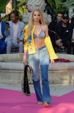 DAPHNE GROENEVELD at Philipp Plein Resort Collection Show in Cannes 05/24/2017