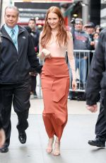 DARBY STANCHFIELD Leaves Good Morning America in New York 05/09/2017