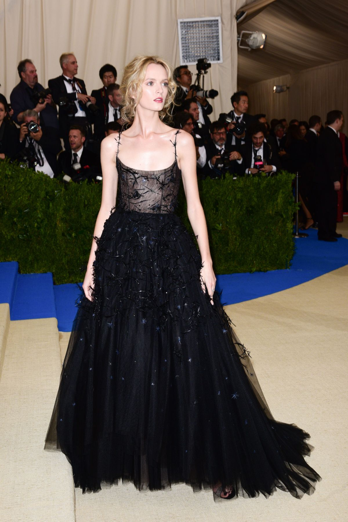 Image result for Daria Strokous at met gala