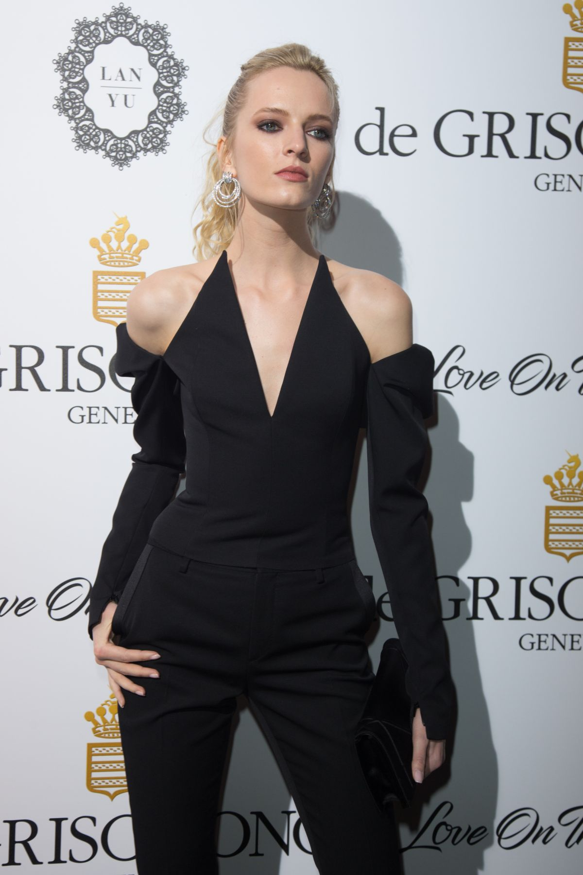 DARIA STROKOUS at De Grisogono Party at Cannes Film Festival 05/23/2017