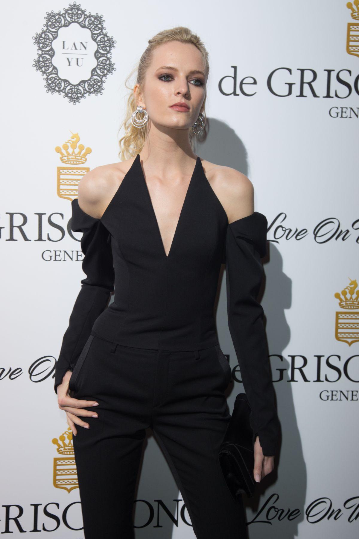 DARIA STROKOUS at De Grisogono Party at Cannes Film Festival 05/23/2017
