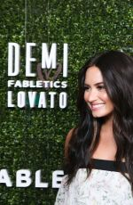 DEMI LOVATO at Demi Lovato for Fabletics Collaboration Launch in Beverly HIlls 05/10/2017