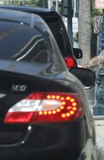 DEMI LOVATO leaves a Gym in Los Angeles 05/04/2017