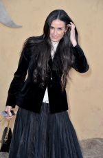 DEMI MOORE at Dior Cruise Collection 2018 Show in Los Angeles 05/11/2017