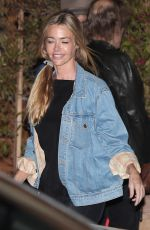 DENISE RICHARDS Out for Lunch in Malibu 05/26/2017
