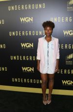 DEWANDA WISE at For Your Consideration Event for Underground in Los Angeles 05/02/2017