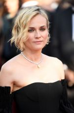 DIANE KRUGER at 70th Annual Cannes Film Festival Closing Ceremony 05/28/2017