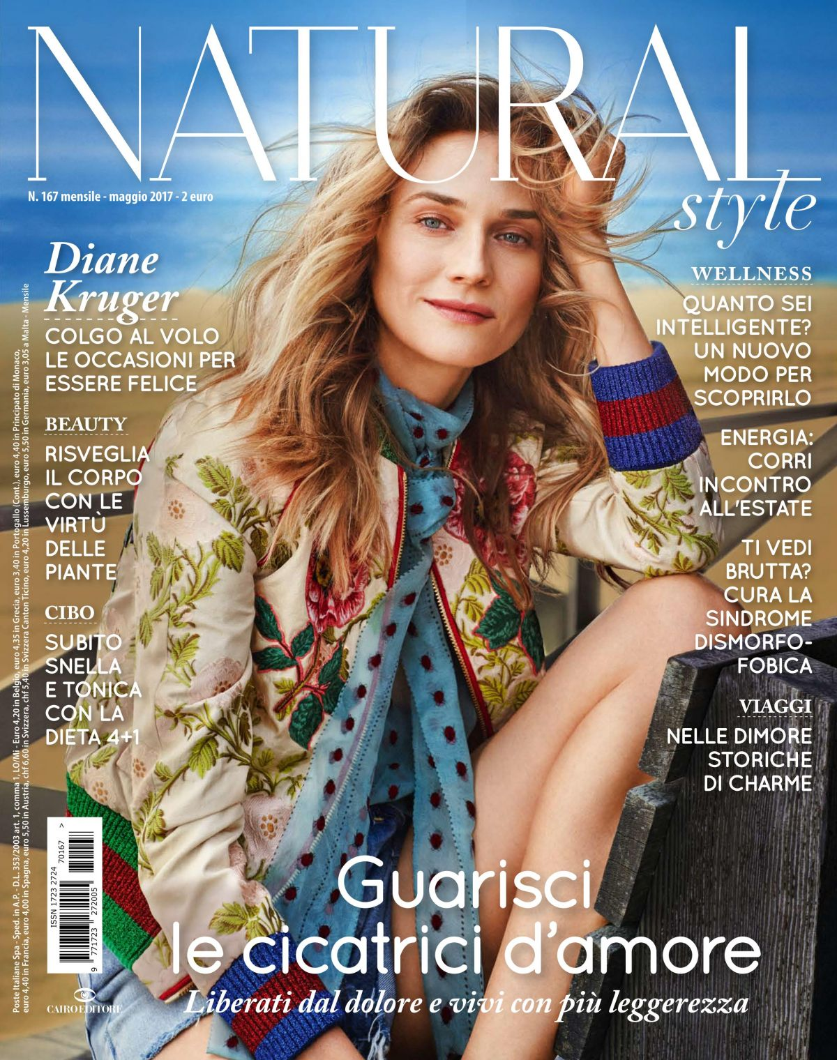 DIANE KRUGER in Natural Style Magazine, Italy May 2017