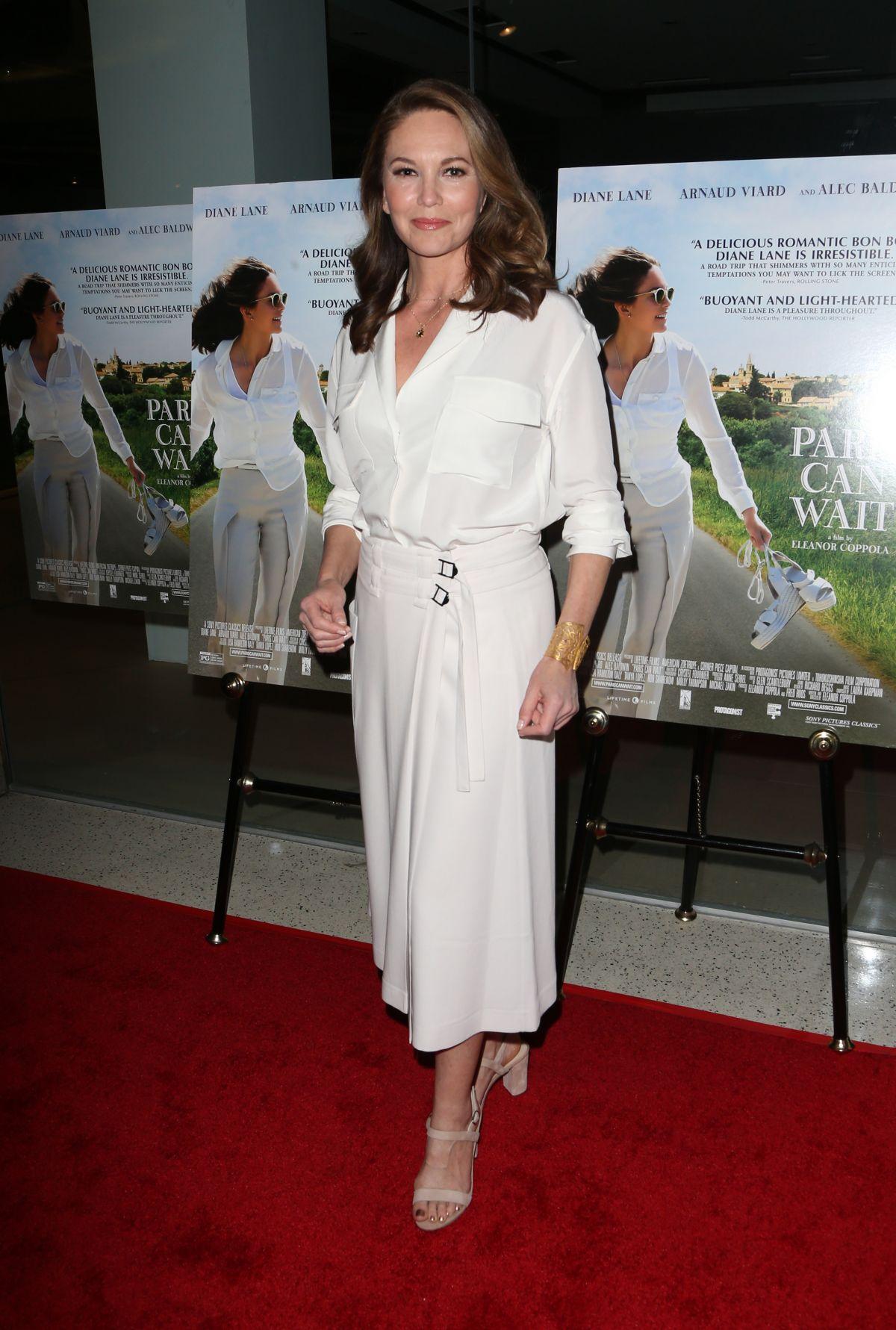 DIANE LANE at Paris Can Wait Premiere in Los Angeles 05/11 ...