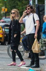 DIANNA AGRON and Winston Marshall Out in New York 05/26/2017