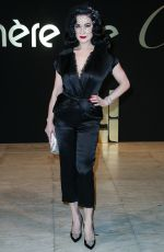 DITA VON TEESE at Panthere De Cartier Watch Launch in Los Angeles 05/05/2017