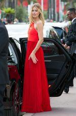 DOUTZEN KROES Leaves Her Hotel in Cannes 05/25/2017