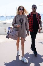 DOUTZEN KROES Out at Croisette in Cannes 05/25/2017