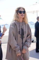 DOUTZEN KROES Out at Croisette in Cannes 05/25/2017