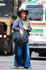 DREW BARRYMORE Out and About in New York 05/11/2017