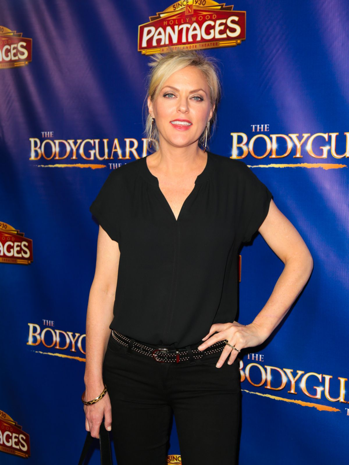 ELAINE HENDRIX at The Bodyguard Opening Night in Los Angeles 05/02/2017