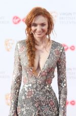 ELEANOR TOMLINSON at 2017 British Academy Television Awards in London 05/14/2017
