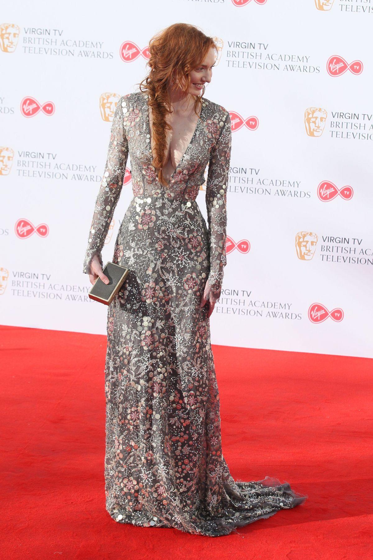ELEANOR TOMLINSON at 2017 British Academy Television
