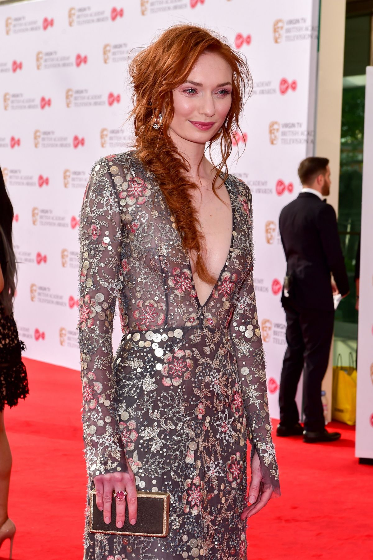 Eleanor Tomlinson: British Academy Television Awards 2017