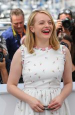 ELISABETH MOSS at The Square Photocall at 2017 Cannes Film Festival 05/20/2017