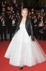 ELISABETH MOSS at The Square Premiere at 70th Annual Cannes Film Festival 05/20/2017